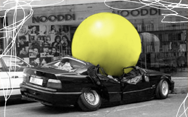a big yellow ball is a friend to everyone.